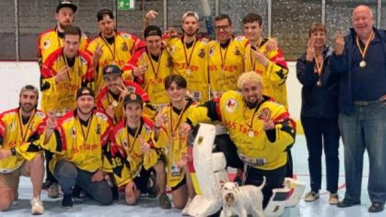 Die DEG Rhein Rollers gewinnen die Deutsche Meisterschaft